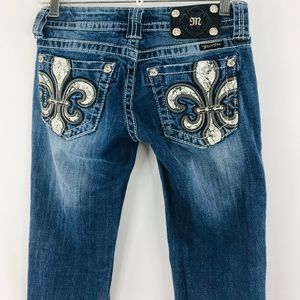Miss Me Jeans - Miss Me denim boot cut jeans SZ 25